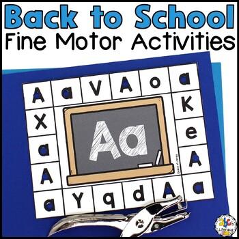 Back-To-School Fine Motor Tubs