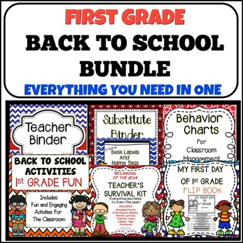Back To School {First Grade}
