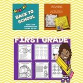 Back To School: Math First Grade
