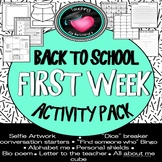 Back To School Ice breakers and getting to know you activities