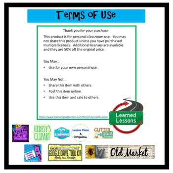 Back To School Flipbook Activity Pages (Paper and Google Drive)