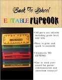 Back To School Flip Book Template