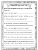 Back To School Forms *FREEBIE*