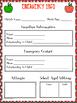 Back To School Forms, Powerpoint MEGA BUNDLE