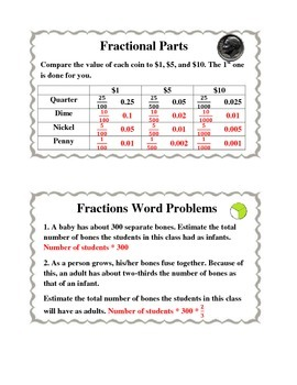 Fraction Fun Task Cards