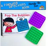 Back To School Freebie:  Bubble Pop Fidget Book
