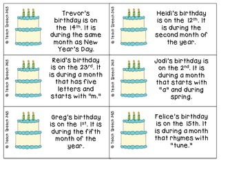 When Is Your Birthday? [FREE}