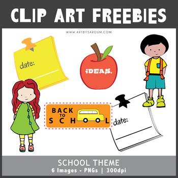 Back To School Freebies Set