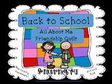 Back To School Friendship Quilt