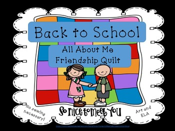 Back To School Friendship Quilt