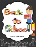 Back To School Games, Worksheets, Centers, Activites