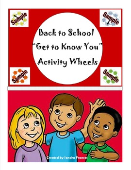 """Back To School """"Get To Know You Wheels"""""""