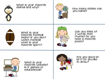 Back To School - Getting to Know You