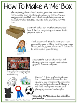 Back To School : Getting to Know You Me Box