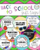 Back To School Gift Tags for students BUNDLE!! - First day of school gift ideas!