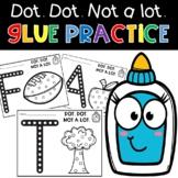 Back To School Glue Practice