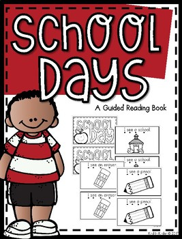 Back To School Guided Reading Book