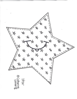 Back To School,I Am A Star Craft and Writing Project!