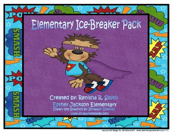 Back-To-School Ice Breaker Pack (Elementary)