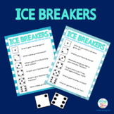 Back To School: Ice Breakers FREEBIE