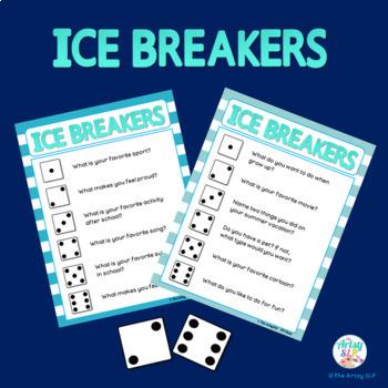 Back To School: Ice Breakers Freebie