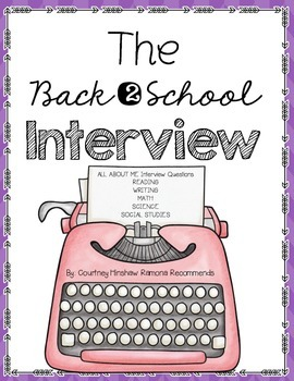 Back To School Interview For ALL SUBJECTS