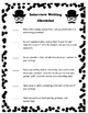 Back To School - Interview and Writing Activity ~ I Mustache You A Question