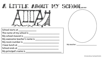 Back To School Activity Book For All Grades