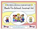 Back-To-School Journal Jot
