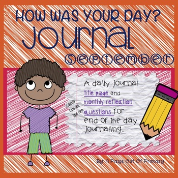Back To School/Journal/September