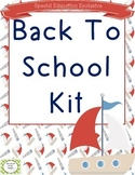 Back To School Kit for Special Education