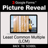 Back To School: Least Common Multiple (LCM) - Google Forms