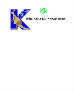 Back To School: Let's Learn Names