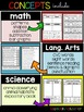 Back To School Leveled Activity Pack (Includes Level 1 & 2)
