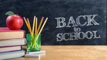 Back To School Library Letter