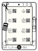 Back To School Listening Center-QR Codes-Blackline and Rec