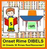 DIBELS Practice: Onset Rime Activities:  Level 1