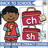 Back To School Literacy Centers for Second Grade