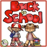 Back To School Literacy and Math Activities Pack