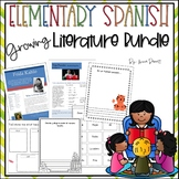 Bilingual Literature Activities Bundle *Growing* Spanish a