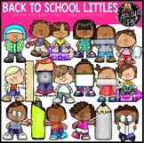 Back To School Littles Clip Art Set {Educlips Clipart}