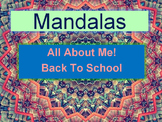 Back To School MANDALAS: Art, Math & International Studies