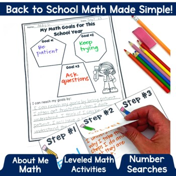 Back To School Activities Math
