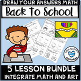Back To School Math Activities 5th Grade Math Art Worksheets