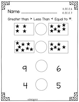 Back To School Math Assessment