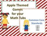 Apple Themed  Math Games