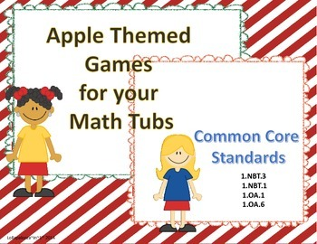Apple Themed  Math Games