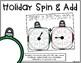 Math Centers Second Grade - Holiday