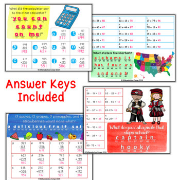 Back To School Math Review