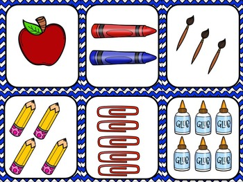 Back To School Math Stations and Activities:  Numbers to 20